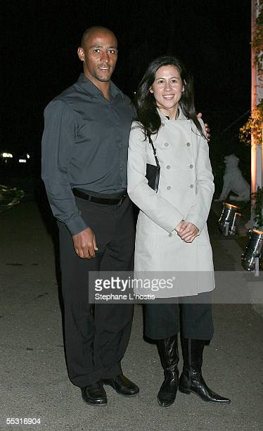 George Gregan and his wife Erica at the Collette Dinnigan Resort 2005 Collection Launch held at Strickland House Vaucluse September 8 2005 in Sydney...