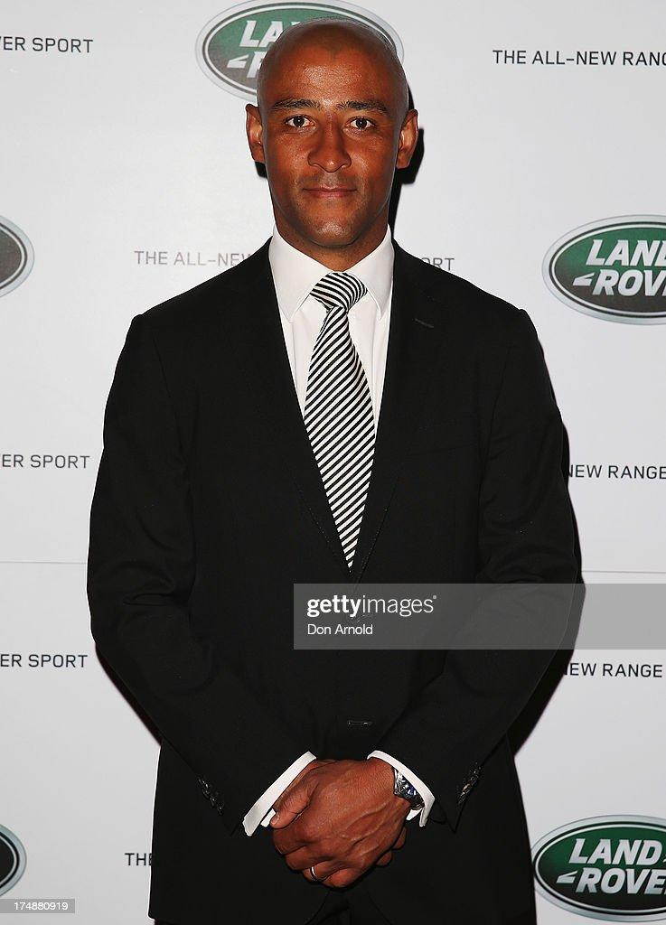 Celebrities Attend Range Rover Launch