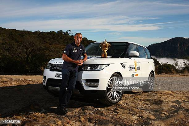 George Gregan Land Rover Ambassador and Australian Rugby World Cup 1999 Winner took part In Land Rover's Least Driven Path activity today taking The...