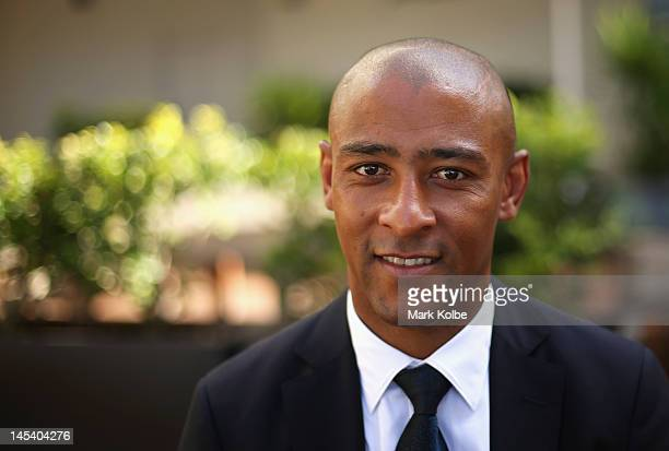 George Gregan poses after being named as one of the seven 2012 ARU Classic Wallabies Statesman at Crowne Plaza Coogee on May 29 2012 in Sydney...