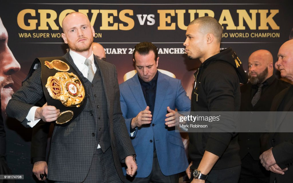George Groves v Chris Eubank Jr. - Press Conference