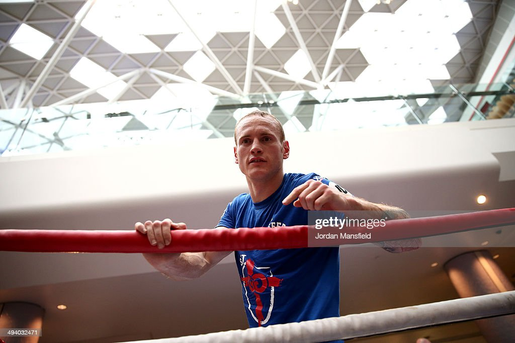 George Groves Media Work Out