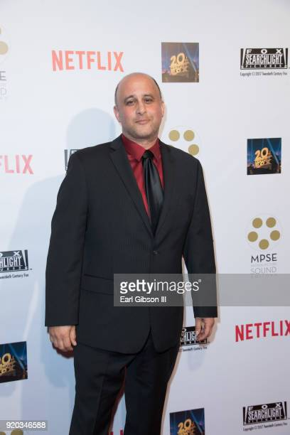 George Haddad attends the 65th Annual Motion Picture Sound Editors Golden Reel Awards on February 18 2018 in Los Angeles California