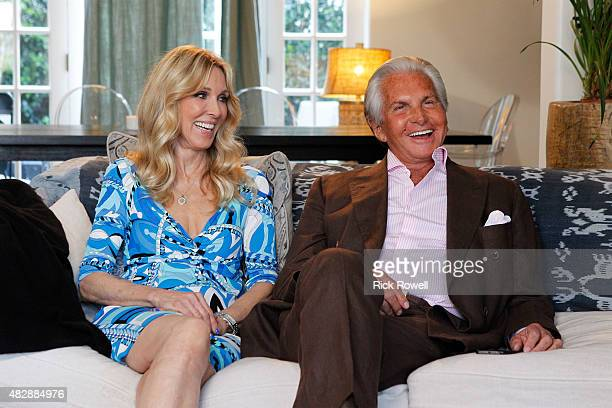 SWAP 'George Hamilton Alana Stewart/Angela 'Big Ang' Raiola' Actor George Hamilton and his exwife actress and former model Alana Stewart swap lives...