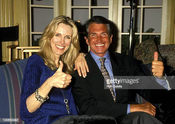 George Hamilton and Alana Hamilton Stewart during 1995 National Association of Television Program Executives Conference Day 1 at Sands Expo Center in...