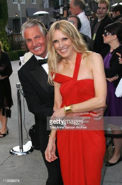 George Hamilton and Alana Stewart during 2007 Vanity Fair Oscar Party Hosted by Graydon Carter Arrivals at Mortons in West Hollywood California...