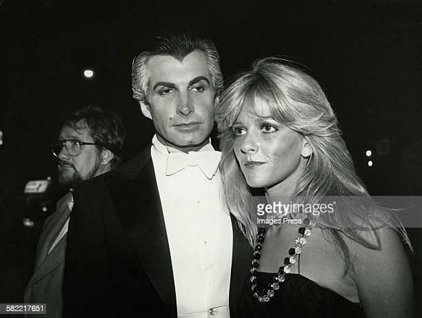 George Hamilton and Liz Treadwell circa 1979 in New York City