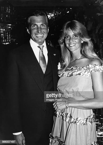 George Hamilton and Liz Treadwell circa 1982 in New York City