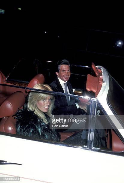 George Hamilton and Liz Treadwell during George Hamilton File Photos by Galella United States