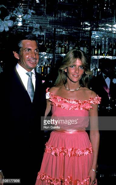 George Hamilton and Liz Treadwell during Regine's 7th Anniversary Party at Regine's in New York City New York United States