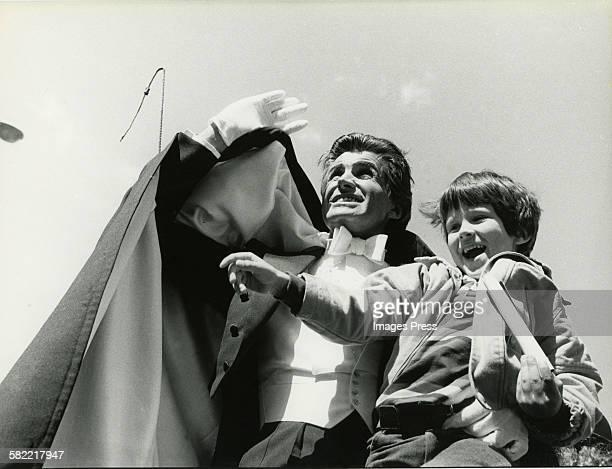 George Hamilton and son Ashley Hamilton circa 1979 in New York City