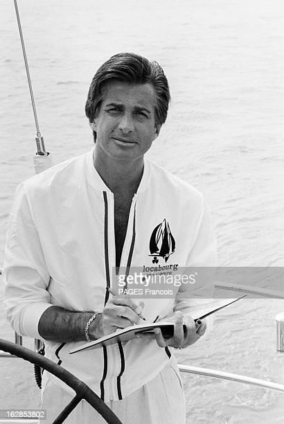 George Hamilton At The 5Th Deauville Festival France Deauville 7 septembre 1979 l'acteur et producteur américain George Hamilton participe au 5ème...