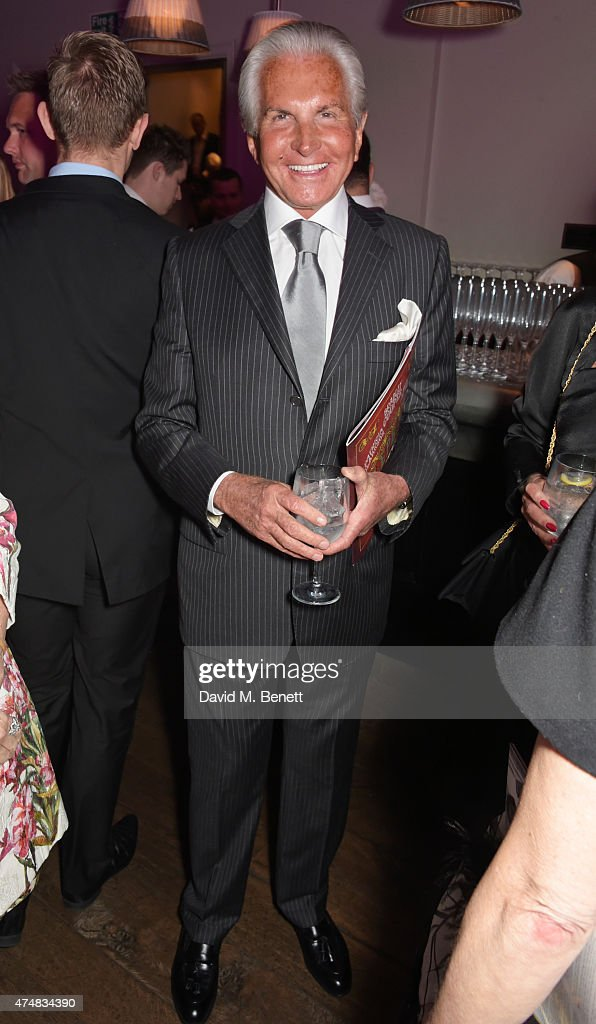 George Hamilton attends an after party celebrating the VIP Gala Preview of 'The Elephant Man' at The Haymarket Hotel on May 26, 2015 in London, England.