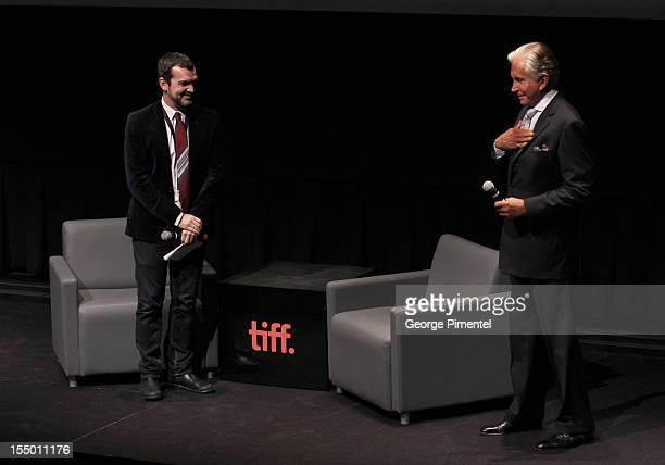 """George Hamilton attends the screening of """"Love At First Bite"""" at TIFF Bell Lightbox on October 29, 2012 in Toronto, Canada."""