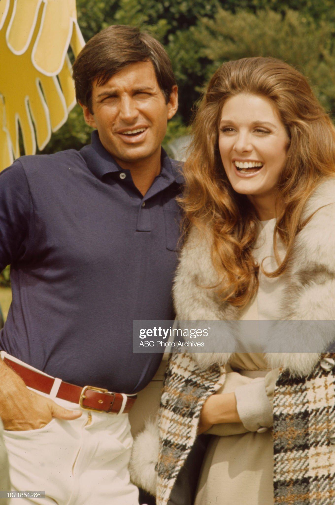 George Hamilton, Carla Borelli Appearing In 'The Survivors' : News Photo