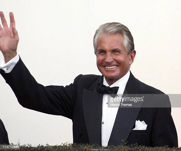 George Hamilton during 2007 Vanity Fair Oscar Party Hosted by Graydon Carter Arrivals at Mortons in West Hollywood California United States