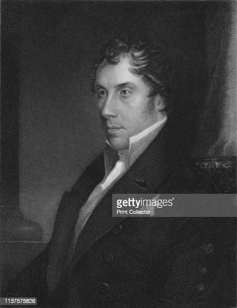 George HamiltonGordon Earl of Aberdeen KTFAS c c' 1841 Portrait of British politician George Hamilton Gordon 4th Earl of Aberdeen Prime Minister from...
