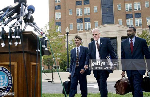George Harris James Brosnahan and Tony West attorneys for John Walker Lindh the 21yearold Californian captured with Taliban fighters in Afghanistan...