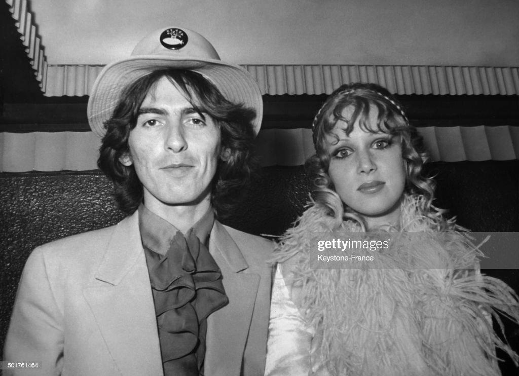 George Harrison and Patti Boyd : News Photo
