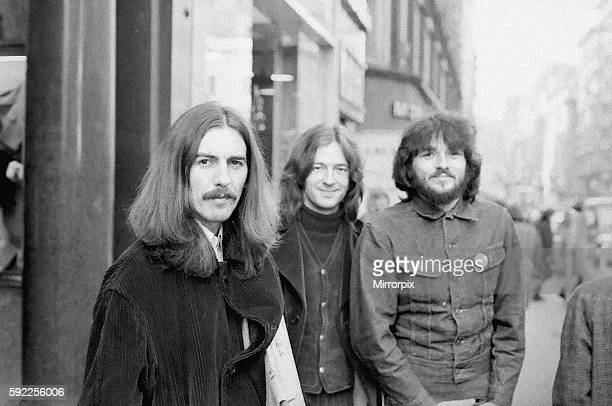George Harrison leaves the Midland Hotel, New Street, Birmingham on his way to perform at the Town Hall with Eric Clapton & Delaney Bramlett 3rd...