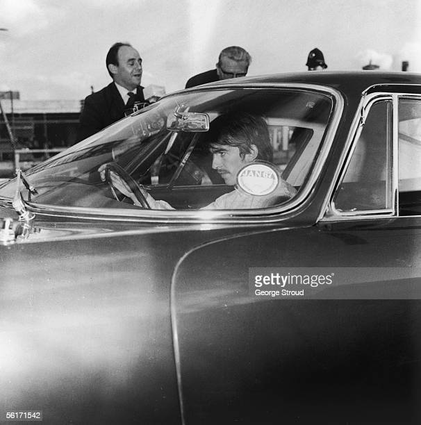 George Harrison of the Beatles at London Airport 26th October 1966