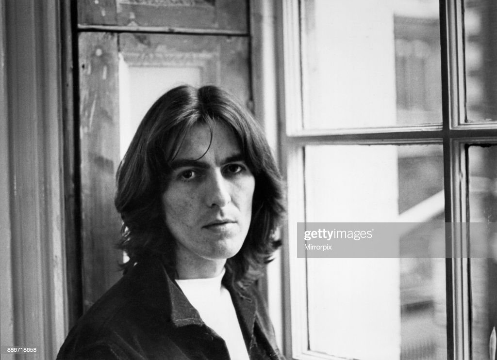 George Harrison Of The Beatles Pop Group Pictured At Apple Headquarters In London 2nd