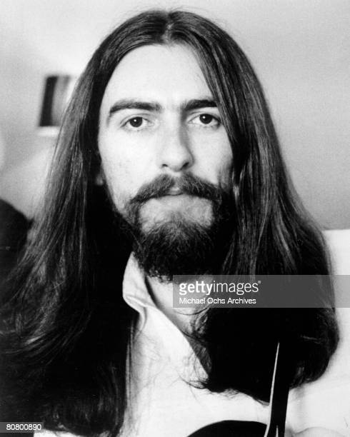 George Harrison of The Beatles poses for a portrait in 1970 in London England