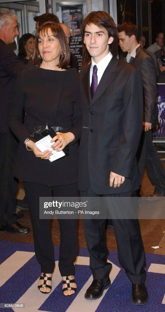 George Harrisons Widow Olivia And Son Dhani Arrive For The DVD Screening Of A