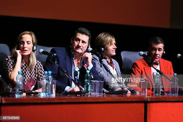 George Hencken Tony Hadley Steve Norman and John Keeble attend the 'Soul Boys of the Western World' Press Conference during the 9th Rome Film...