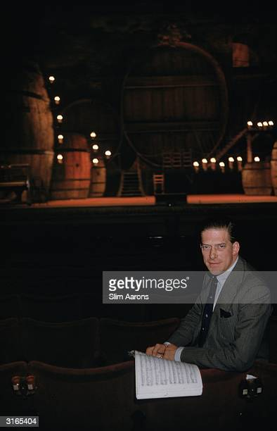 George Henry Hubert Lascelles, managing director of the English National Opera North and 7th Earl of Harewood, at the Royal Opera House in Covent...