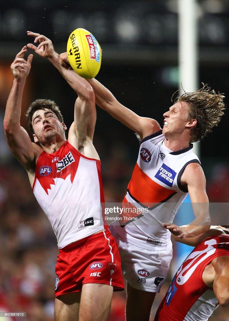 AFL Rd 3 - Sydney v GWS