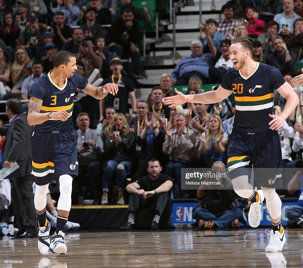 Detroit Pistons v Utah Jazz : News Photo