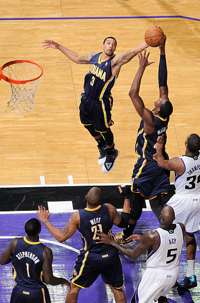Indiana Pacers v Sacramento Kings