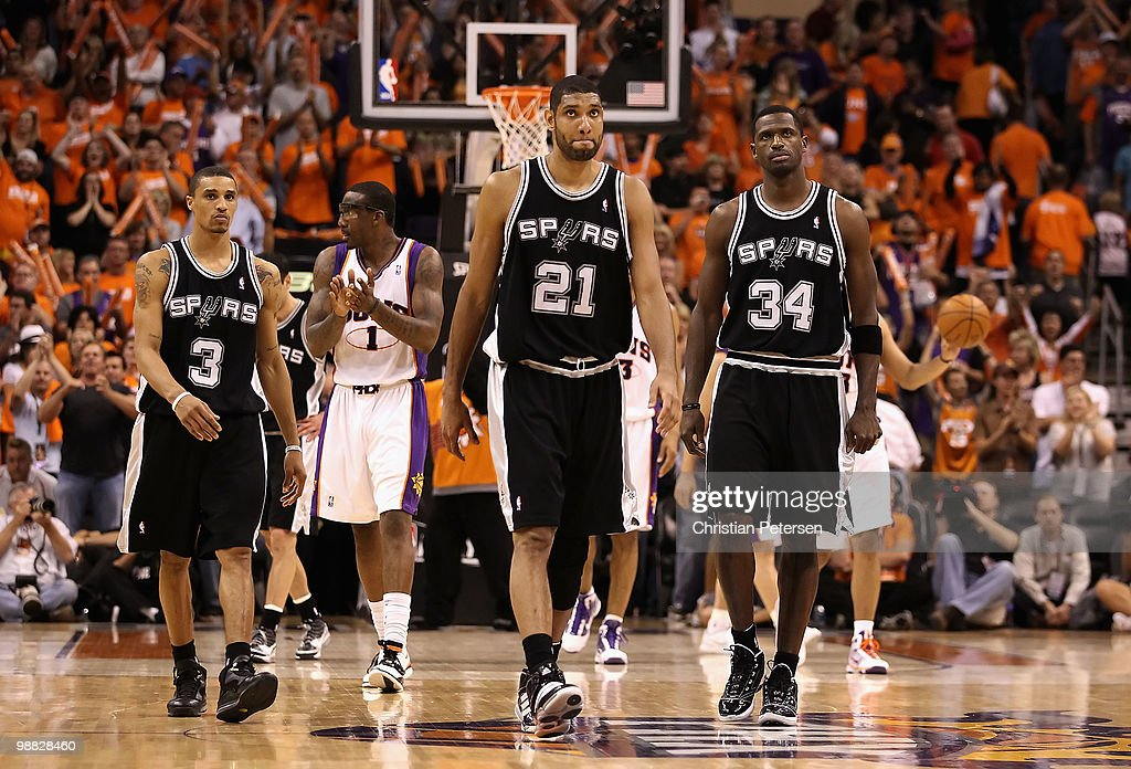 San Antonio Spurs v Phoenix Suns, Game 1