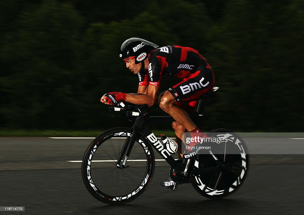 932c3c6a5 George Hincapie of the USA and the BMC Racing Team in action during ...