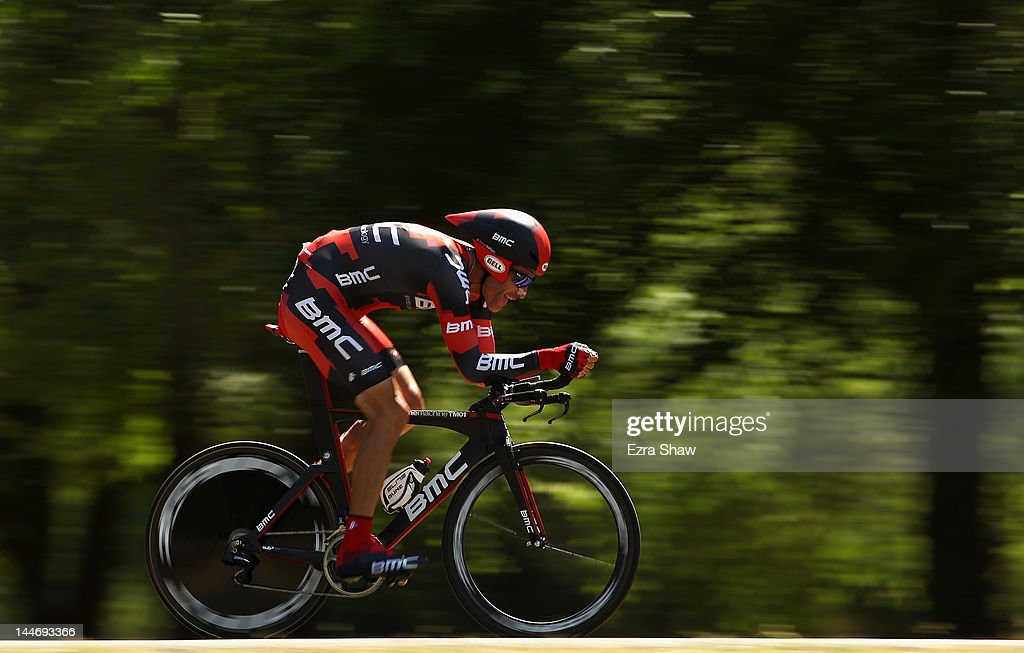 20ba025bc George Hincapie riding for BMC Racing Team competes in the ...