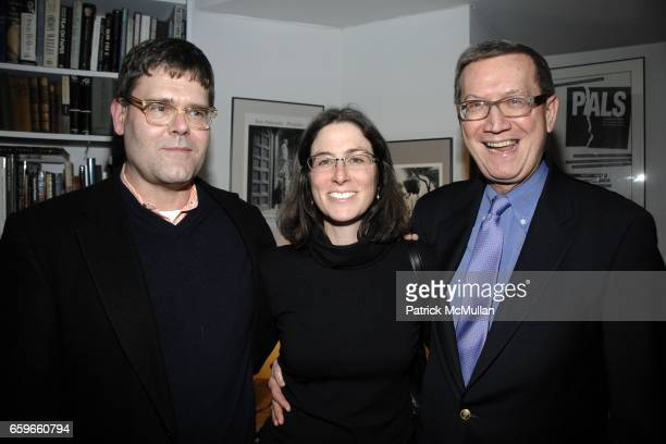 George Hodgman Jennifer Barth Wayne Lawson attend Patricia Bosworth and Joel Conarroe host party for BRAD GOOCH'S new book FLANNERY A LIFE OF...