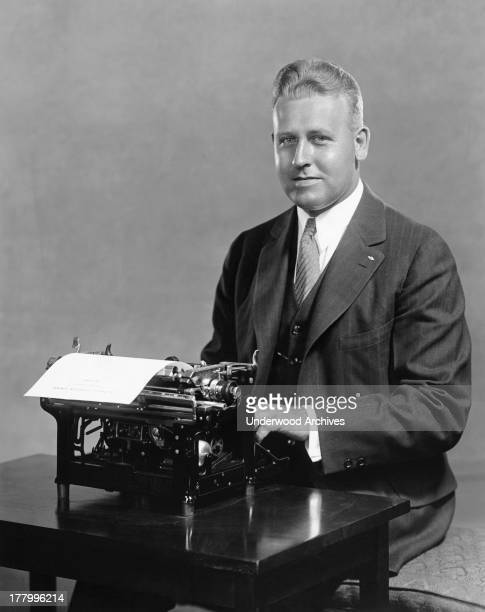 George Hossfeld is the new world champion speed typist setting a new record of 135 words per minute Toronto Canada c 1918