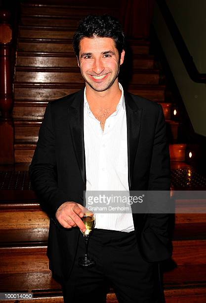 George Houvardas arrives for the Chandon Supper Club after party at The ArtHouse on May 20 2010 in Sydney Australia