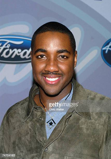 """George Huff - American Idol Finalist during """"American Idol"""" Season 3 - Top 12 Finalists Party - Arrivals at the Pearl in Los Angeles, California."""