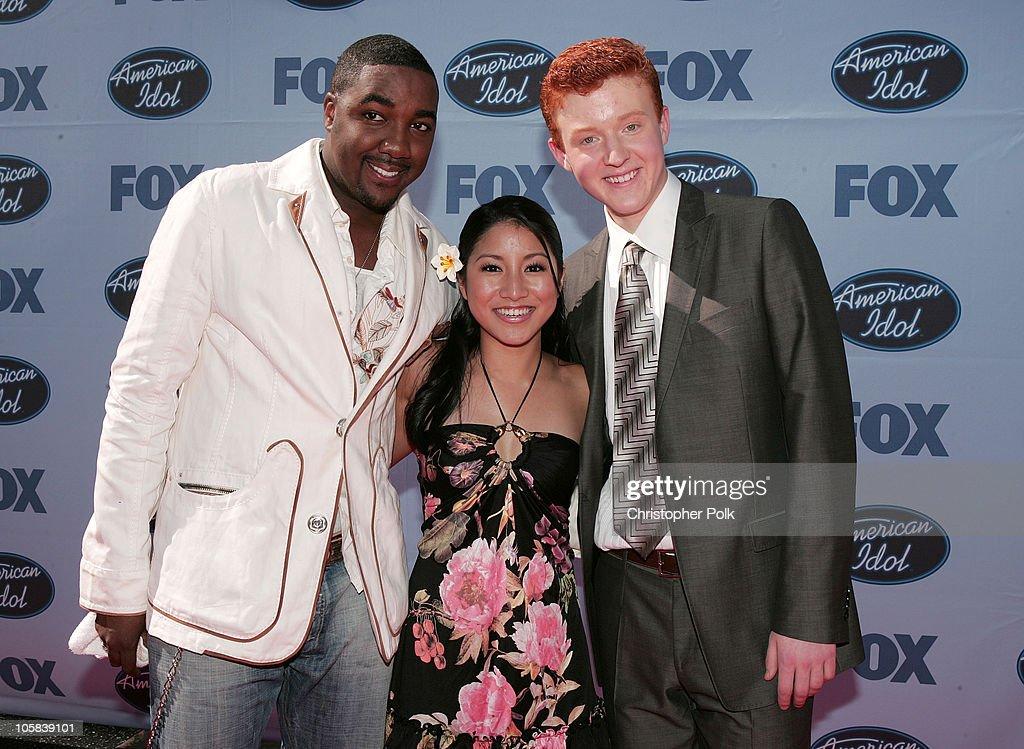 """""""American Idol"""" Season 4 - Finale - Arrivals"""