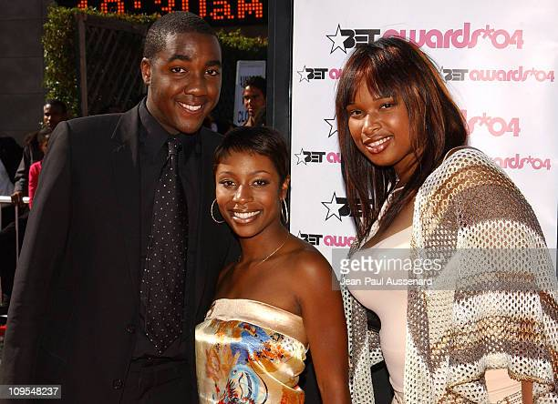 George Huff LaToya London and Jennifer Hudson from 'American Idol'