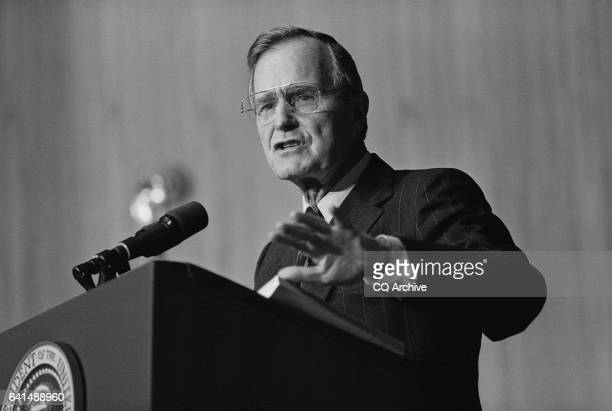 George HW Bush October 23 1991