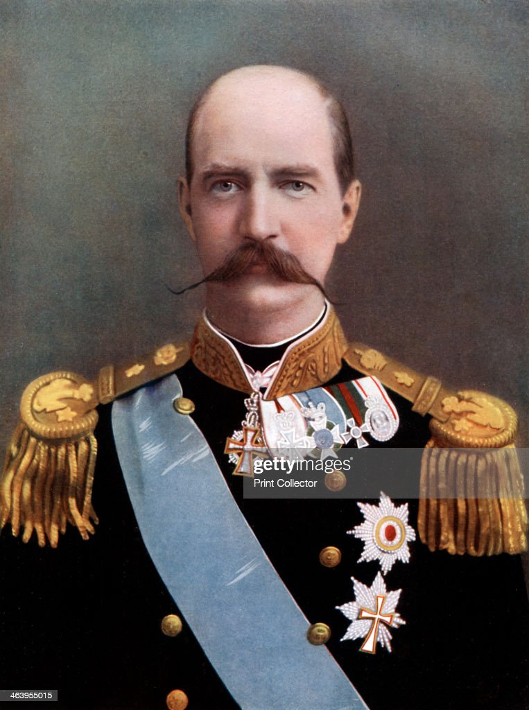 George I, King of Greece, late 19th-early 20th century. : News Photo