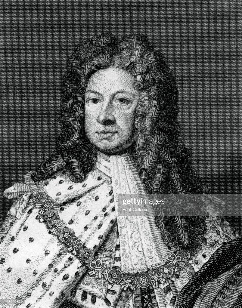 George I of Great Britain.Artist: Worthington : News Photo