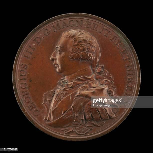 George III, 1738-1820, King of Great Britain 1760 [obverse], 1800. Artist Heinrich Conrad Küchler.