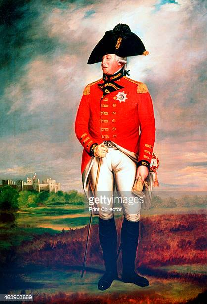 George III King of England c1800 Fulllength portrait of George III king from 1760 in military uniform