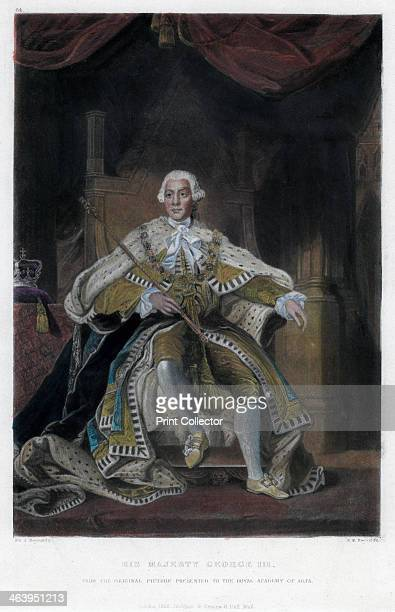 George III King of Great Britain and Ireland Portrait of George III who ruled Britain from 1760 until his son became Regent in 1811 owing to the king...