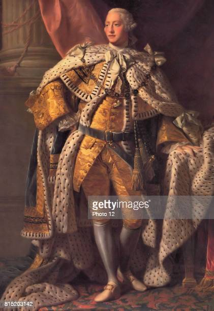 George III King of Great Britain from 1760 Portrait of 1767 from the studio of Alan Ramsay