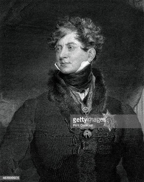 George IV King of the United Kingdom and Hanover 1829 Portrait of George IV who was king of the United Kingdom of Great Britain and Ireland and...